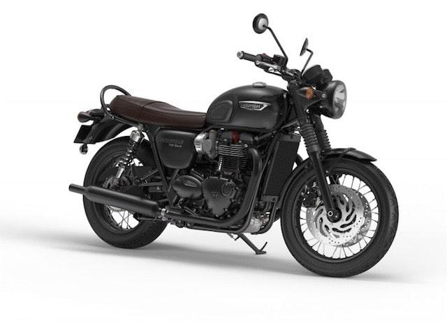 ボンネビルT120ブラック