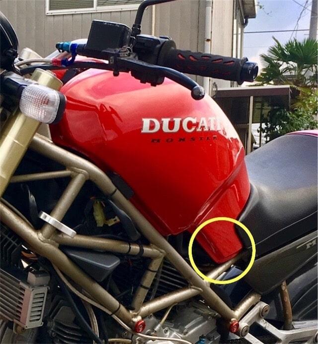 バイクのガソリン漏れ対処法