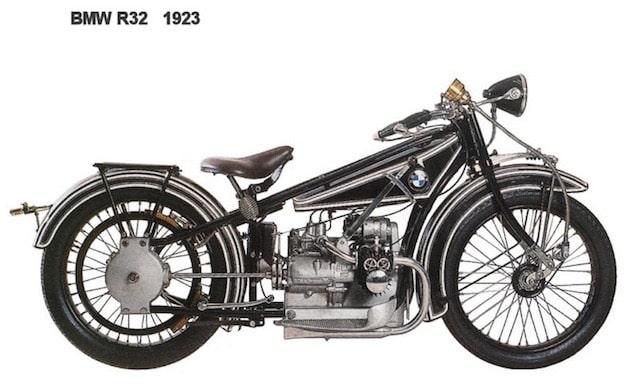 BMW初のモーターサイクルr32