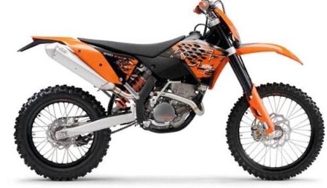 250EXC F